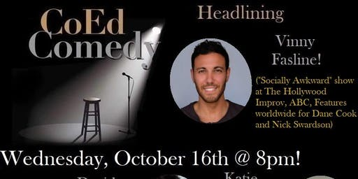 Free Comedy in San Diego 10/16!