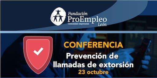 Medidas de autoprotección para la prevención de llamadas de extorsión