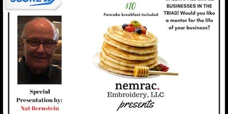 Nemrac Embroidery, LLC Business Networking Breakfast tickets
