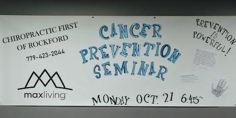 Cancer Prevention Seminar tickets
