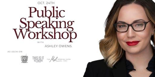 Public Speaking & Hosting Workshop