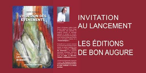1er Lancement de livre-Les Éditions De Bon Augure