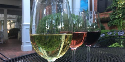 ABC (Anything But California) Wine Tasting  in the Garden