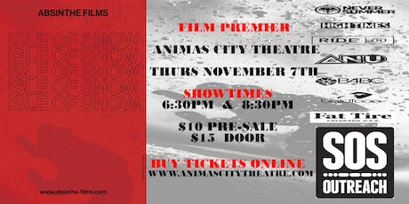 Durango SOS Outreach and Absinthe Films Presents Isle of Snow Movie Premier tickets