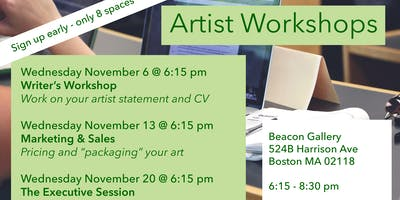 Marketing Workshop for Artists