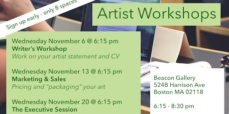 Executive Sales and Marketing Workshop for Artists tickets