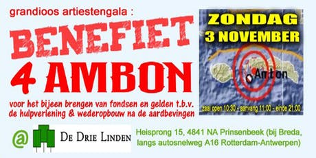 Benefiet 4 Ambon tickets