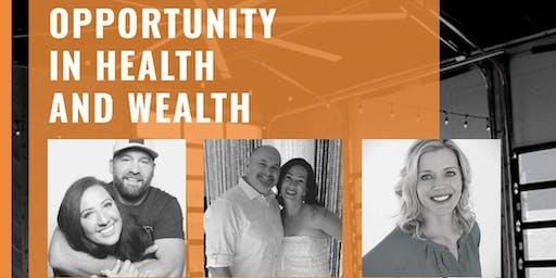 Eastern Oregon Health + Wealth Opportunity Meeting