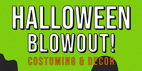 Halloween Flash Sale!: Costuming & Décor (Laguna Hills) tickets