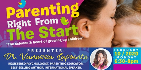 Parenting Right From The Start - the science & heart of growing up children tickets