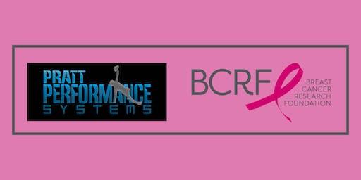 Pratt Performance Breast Cancer Awareness Charity Workout