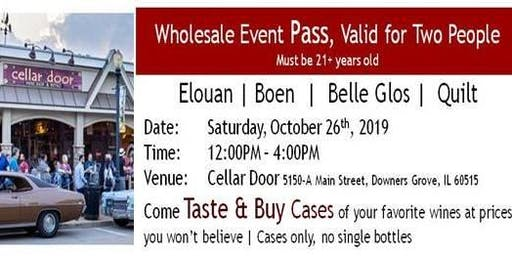 Cellar Door Wholesale Wine Event (Taste and Buy Cases of Wine)