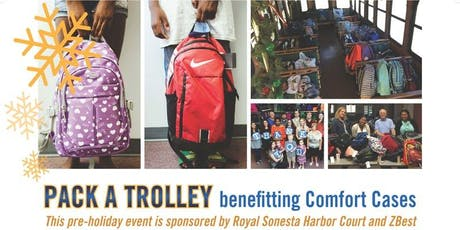 """""""Pack A Trolley"""" to benefit Comfort Cases, helping kids in foster care. tickets"""