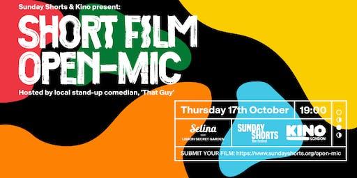Short Film open-mic + The Guy