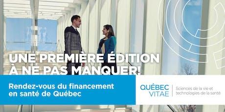 Rendez-vous du financement en santé de Québec billets