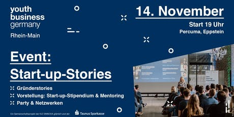 "YBG ""Start-up-Stories"" Tickets"