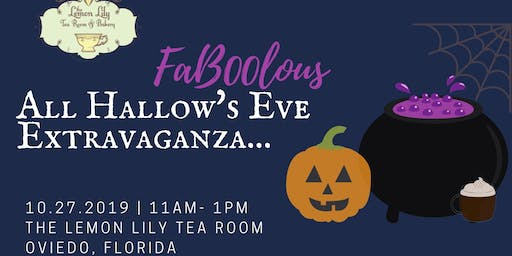 A FaBOOlous All Hallow's Eve Extravaganza