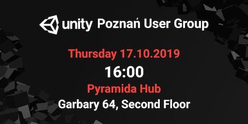 Poznań Unity User Group - 17.10.2019