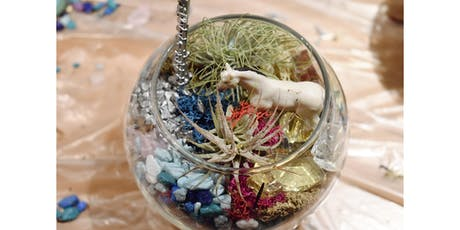 Saturday Terrarium Class: Zen Crystals tickets