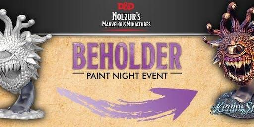 WizKids Beholder Paint & Take Event