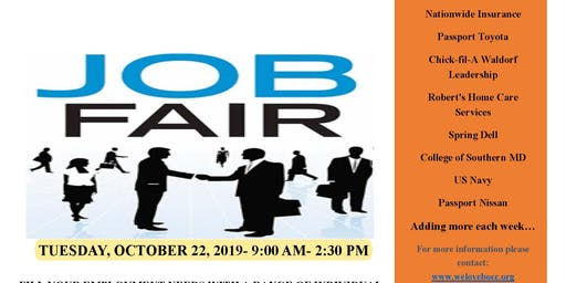 2019 Body of Christ Church Job Fair