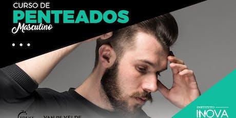 Curso de Técnicas de Penteados Masculinos ingressos