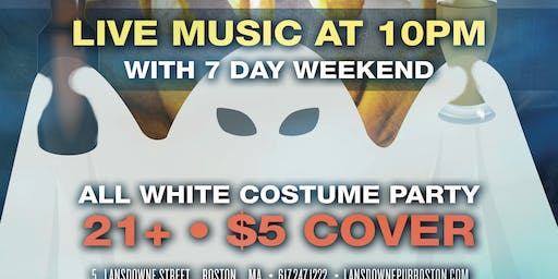 Boo's and Booze - Halloween Hangover All White Party At The Lansdowne Pub!