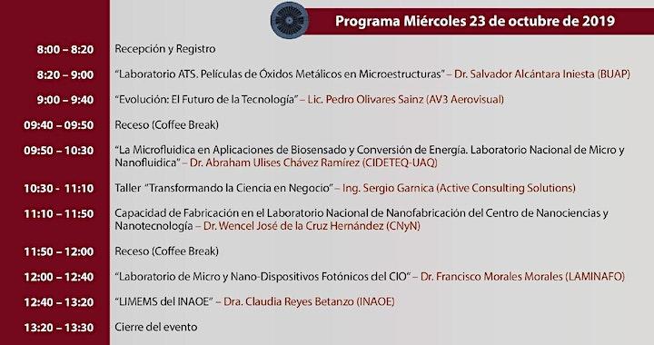 """Imagen de 4to Evento """"Cuartos Limpios y Emprendimiento Científico en México"""""""