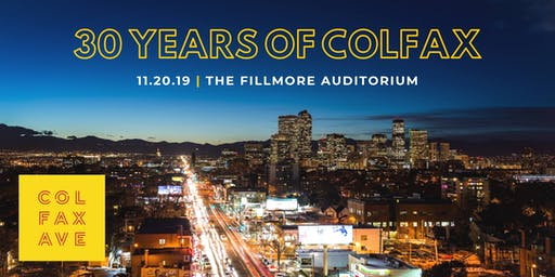 30 Years of Colfax