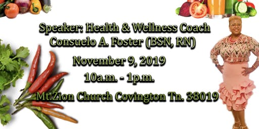 Legacy Health and Wellness Vegan/Plant-Based Seminar and Food Expo
