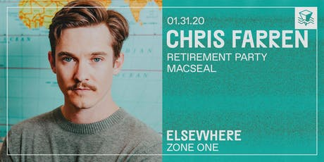 Chris Farren @ Elsewhere (Zone One) tickets