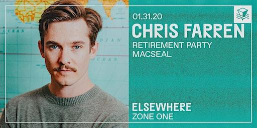 Chris Farren @ Elsewhere (Zone One)