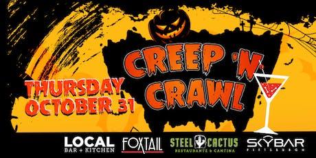 3rd Annual Halloween South Side Creep & Crawl! tickets
