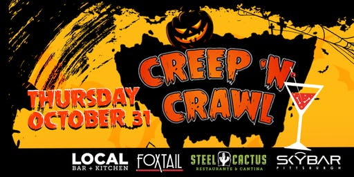 3rd Annual Halloween South Side Creep & Crawl!