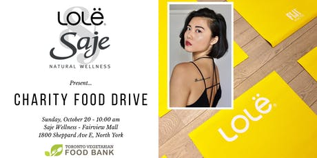 Charity Event in Support of Toronto Vegetarian Food Bank tickets