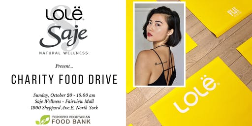 Charity Event in Support of Toronto Vegetarian Food Bank