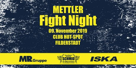 Mettler Fight Night XXIII Tickets