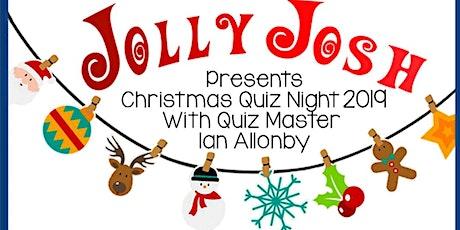 Jolly Josh 2019 Christmas Quiz tickets