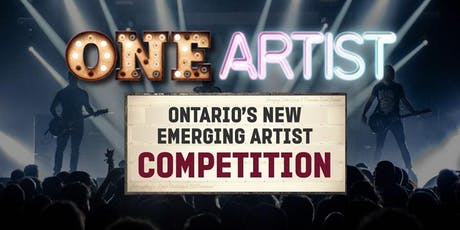 ONE Artist Ontario LIVE Auditions tickets