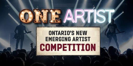 ONE Artist Ontario LIVE Auditions