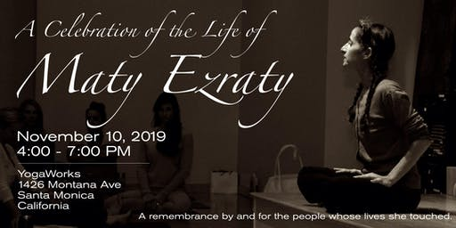 A Celebration of the Life of  Maty Ezraty