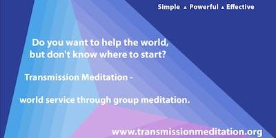Transmission Meditation: group meditation (Wednesday nights + Sunday Mornings)