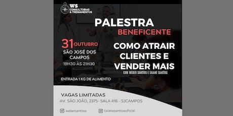 PALESTRA BENEFICENTE-COMO ATRAIR CLIENTES E VENDER MAIS ingressos