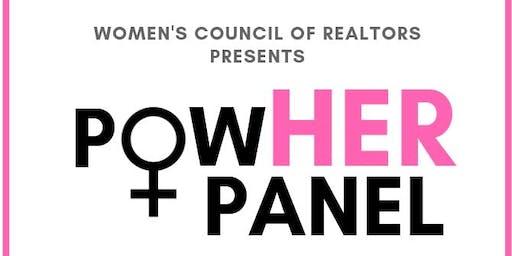 WCR PowHER Panel 2019