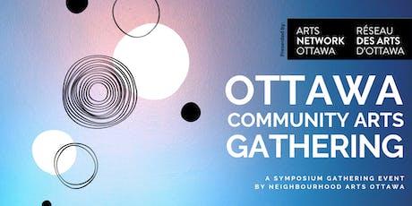 Ottawa Community Arts Gathering billets