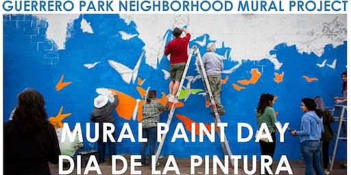 Guerrero Park Mural Paint Day