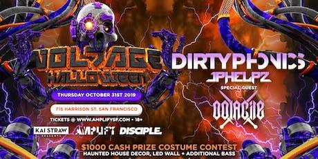 Voltage: Halloween ft. Dirtyphonics, Oolacile & JPHELPZ (Ages 18+) tickets