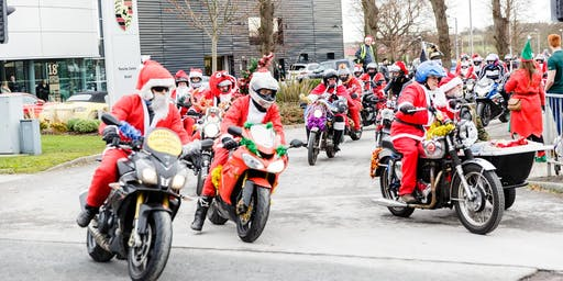 Santa's on a Bike 2019 - Bristol Ride to Charlton Farm