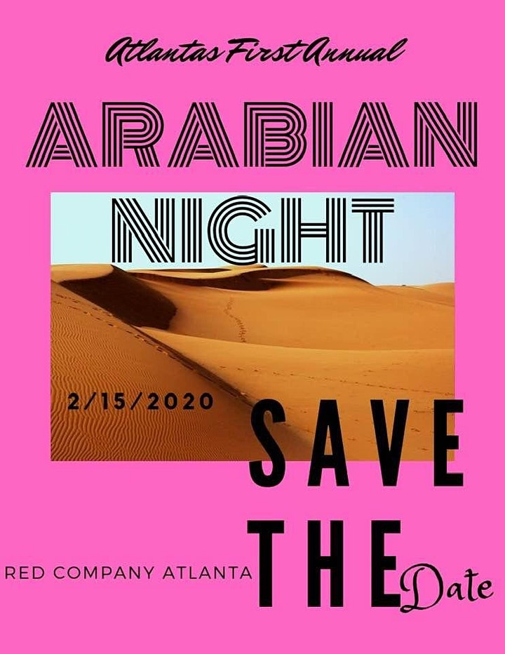 Atlanta's Annual Arabian Night Party image