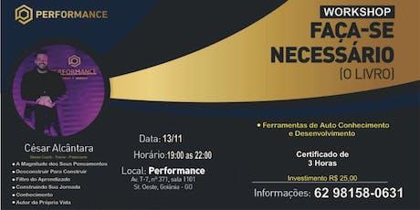 Workshop Coaching em Grupo Faça-se Necessário!!! ingressos